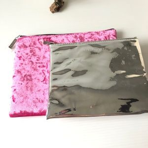2 Mary Kay Bags Makeup Travel Pink Bags